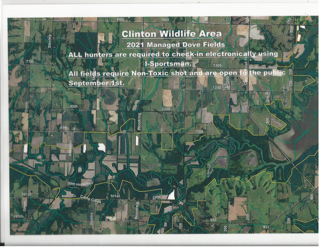 Clinton Northeast Wildlife Areas Locations Kdwpt