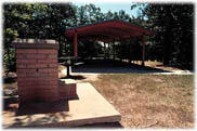 An Elk City Picnic Shelter