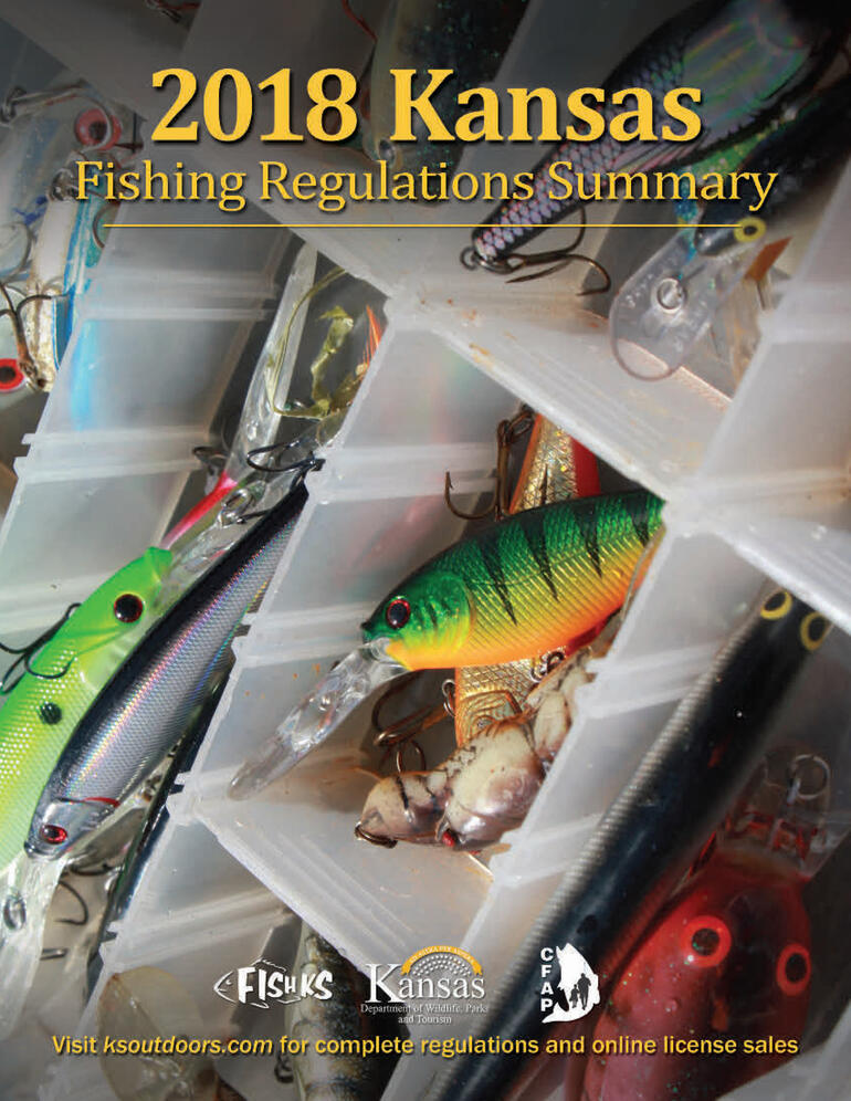 KS Fishing Regulations 15 cover