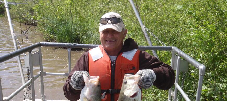 Nebo state fishing lake northeast region fishing for Kdwpt fishing report