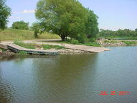 Howard Lake boat ramp