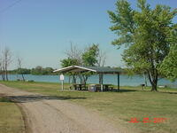 Madison Lake picnic shelter