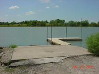 Moline New Lake dock