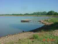 Olpe Lake boat dock