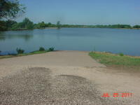 Olpe Lake boat ramp