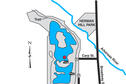 Map of Wichita, Watson Park Lake