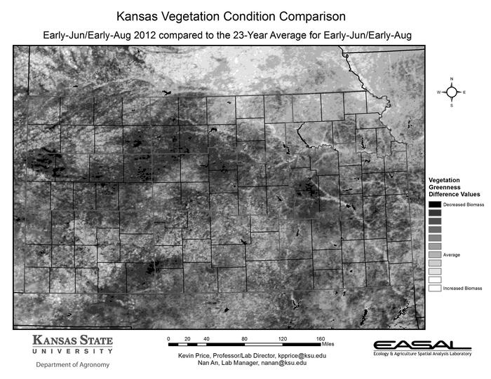 Kansas Vegetation Condition Comparison