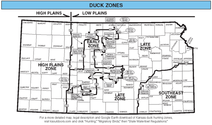 Waterfowl Zones