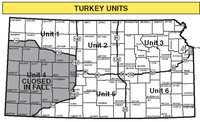 Turkey Management Unit Map