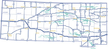 Region 1 wildlife areas locations kdwpt info kdwpt for Kdwp fishing report