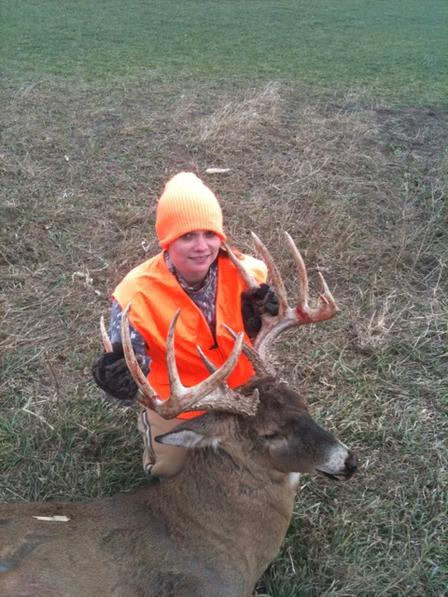 Youth hunter takes impressive first deer