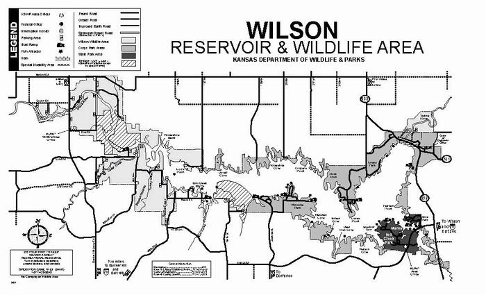 Wilson Wildlife Area Brochure Map
