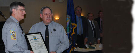 BUSSONE NAMED WILDLIFE OFFICER OF THE YEAR