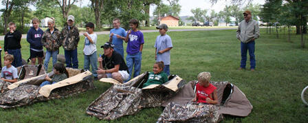 23RD ANNUAL OUTDOOR ADVENTURE CAMP JUNE 5-10