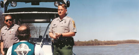 OPERATION DRY WATER BRINGS FIELD SOBRIETY TESTS TO BOATERS