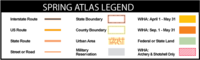 Spring Atlas Legend