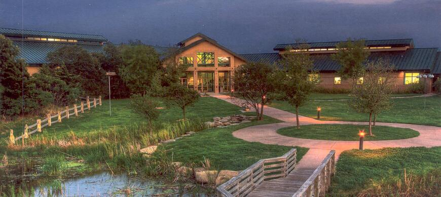 Great Plains Nature Center in the Evening