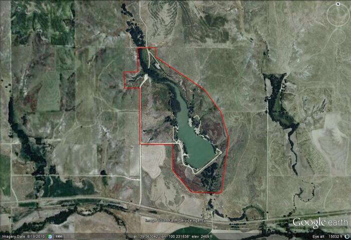 Sheridan sfl google image map image rooks northwest for Kdwpt fishing report