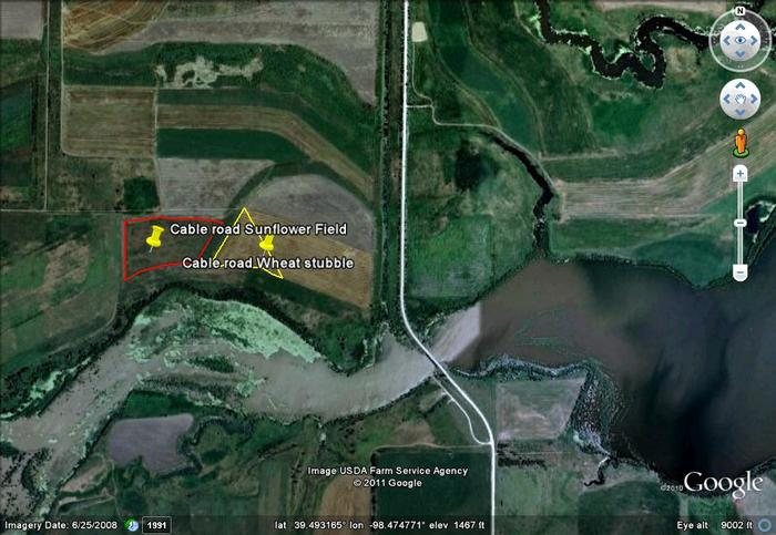 Cable road map images glen elder northwest for Glen elder fishing report
