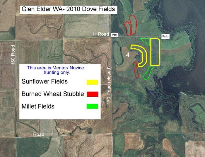 Glen elder dove field 4 new map images glen elder for Glen elder fishing report
