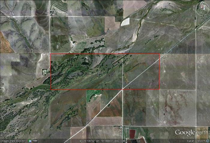 St francis google earth image map images glen elder for Glen elder fishing report
