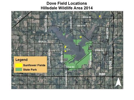 Dove Fields, Hillsdale Wildlife Area 2014