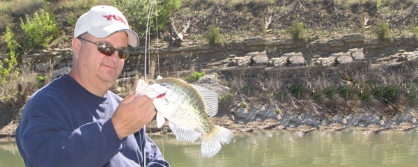 Crappie limit reduced at glen elder reservoir 1 10 13 for Glen elder fishing report