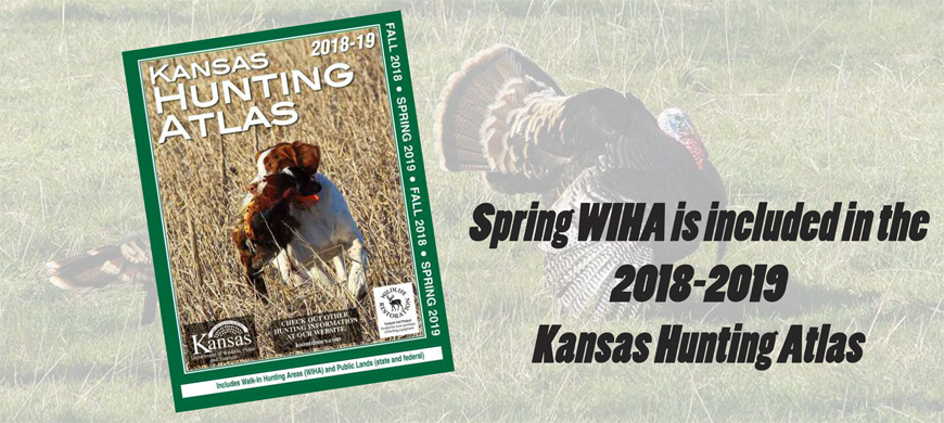 Kansas Fall and Spring Hunting Atlases Combined