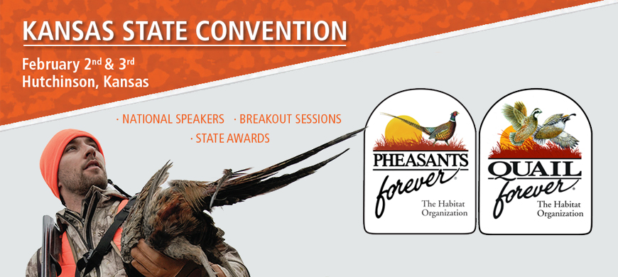 Pheasants Forever, Quail Forever To Host State Convention