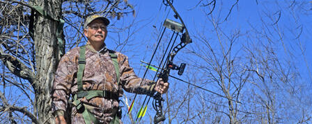 TREESTAND HUNTERS ARE ENCOURAGED TO HARNESS UP