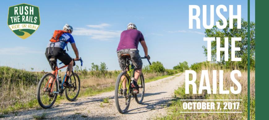 Celebrate Flint Hills Nature Trail at Rush The Rails, Oct. 6-7