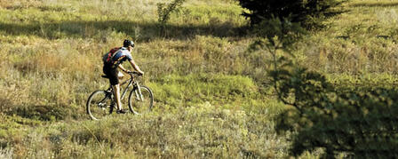 "WILSON STATE PARK'S SWITCHGRASS BIKE TRAIL ""EPIC"""