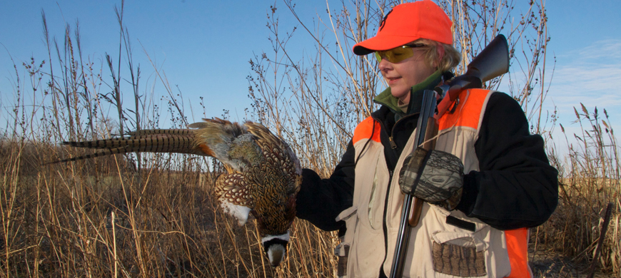 Glen Elder To Host Youth and Women's Pheasant Hunt