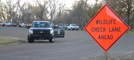 Driver's License, Wildlife Checkpoints Planned
