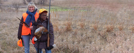 15th ANNUAL PHEASANT HUNT FOR YOUTH & WOMEN AT WACONDA LAKE DECEMBER 8