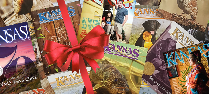 Give The Gift of Kansas Wildlife and Parks Magazine