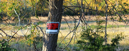 LANDOWNER PERMISSION A MUST WHEN HUNTING PRIVATE LAND