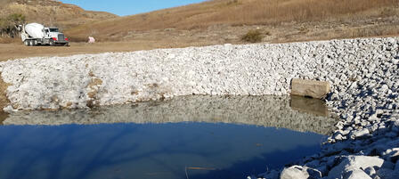 Repairs at Clark State Fishing Lake Completed Early