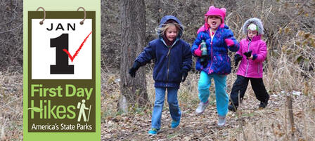 Hike It Off With Friends And Family Jan. 1