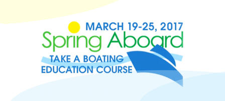 Sign Up For A Spring Boating Education Course