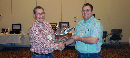 Kirk Thompson Named Wetland Manager of the Year