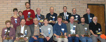 KANSAS WILDLIFE FEDERATION RECOGNIZES 13 CONSERVATIONISTS AT ANNUAL BANQUET