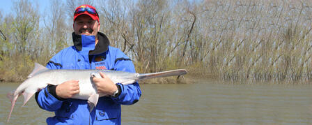 PADDLEFISH SNAGGING SEASON OPENS MARCH 15