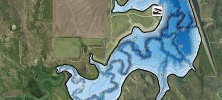 Bathymetric Maps Help Kansas Anglers
