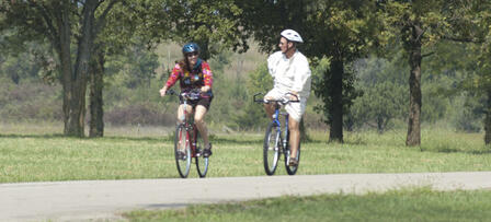 Little Apple Pedal Event at Tuttle Creek State Park