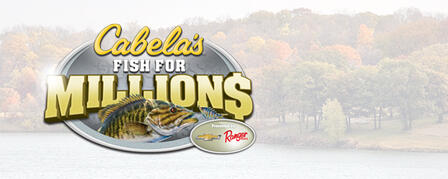 CABELA'S FISH FOR MILLIONS RETURNS TO KANSAS LAKES