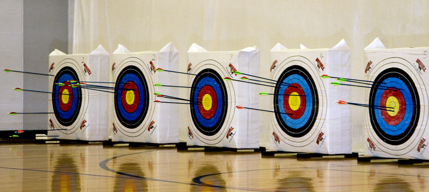 Kansas Students Compete In State Archery Tournament