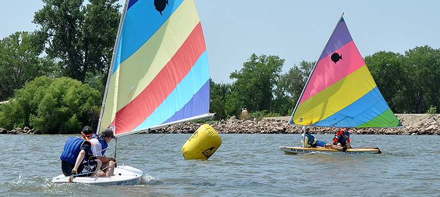 Kansas learn to sail this summer for Plenty of fish kc