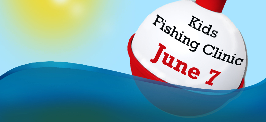 Kids Fishing Clinic at Lovewell State Park June 7