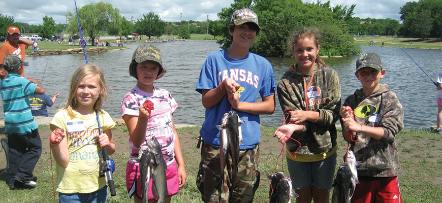 Tuttle Creek Lake Association To Hold Kids Fishing Clinic for 21st Year